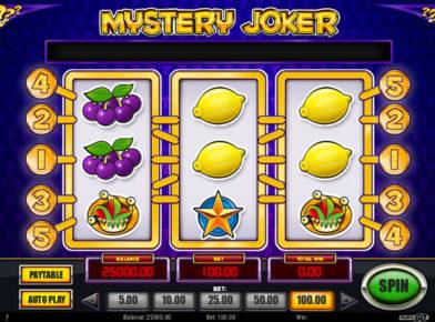 Mystery joker Slot logo