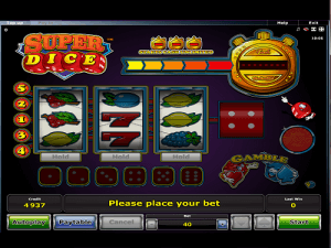 Super Dice Slot logo