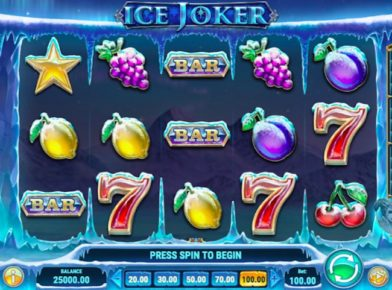 Ice Joker slot logo