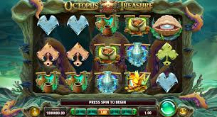 Octopus Treasure slot logo