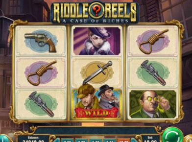 Riddle Reels slot logo